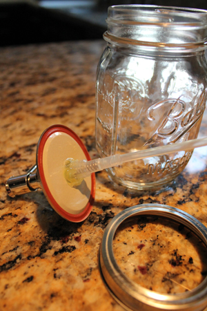 Ball Jar Soap Dispenser Tutorial