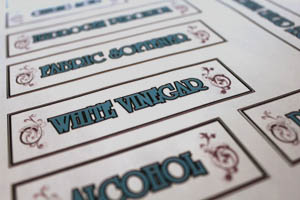 Homemade Labels