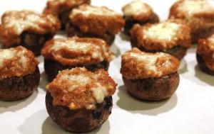 Mushroom Pizza Puffs