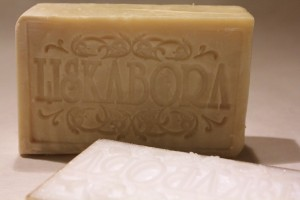 Using our new soap stamp