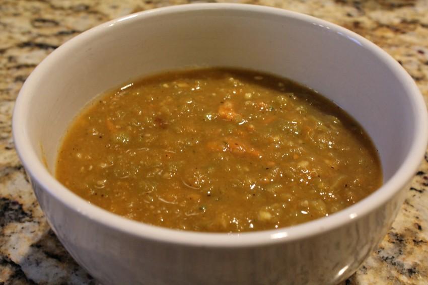 Gluten Free Pea Soup Recipe