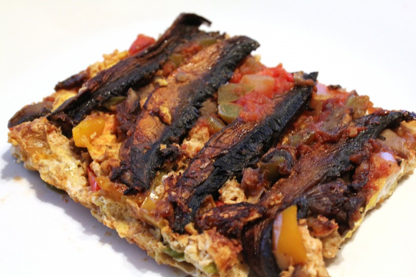 Portobello Mushroom Omelet Recipe