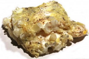 Blue Cheese and Onion Omelet Recipe