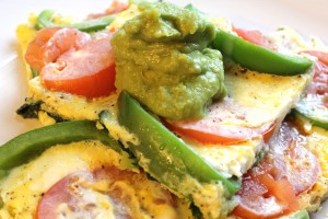 Margherita Omelet Recipe