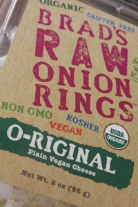Raw Onion Rings