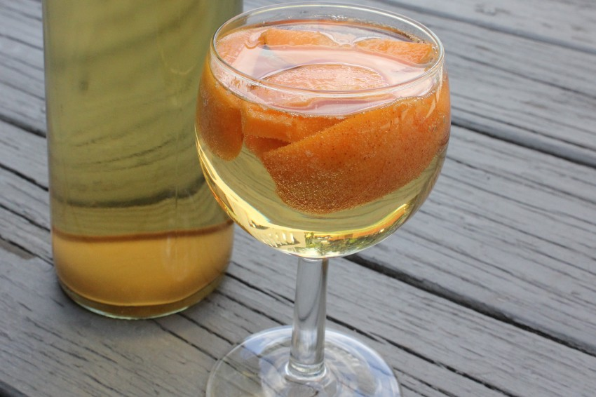 Apricots With Tequila and Mead