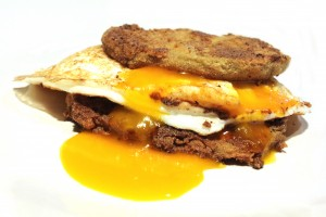 gluten free vegetarian steak and eggs