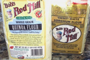 Quinoa and Sorghum Flours