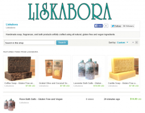Liskabora on etsy