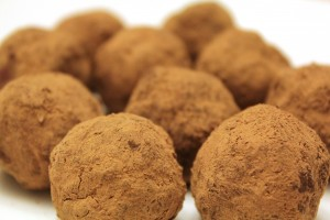 low carb truffles