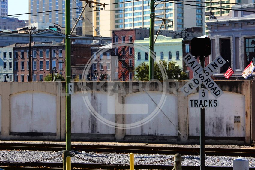 New Orleans Railroad - Urban Art - Grunge