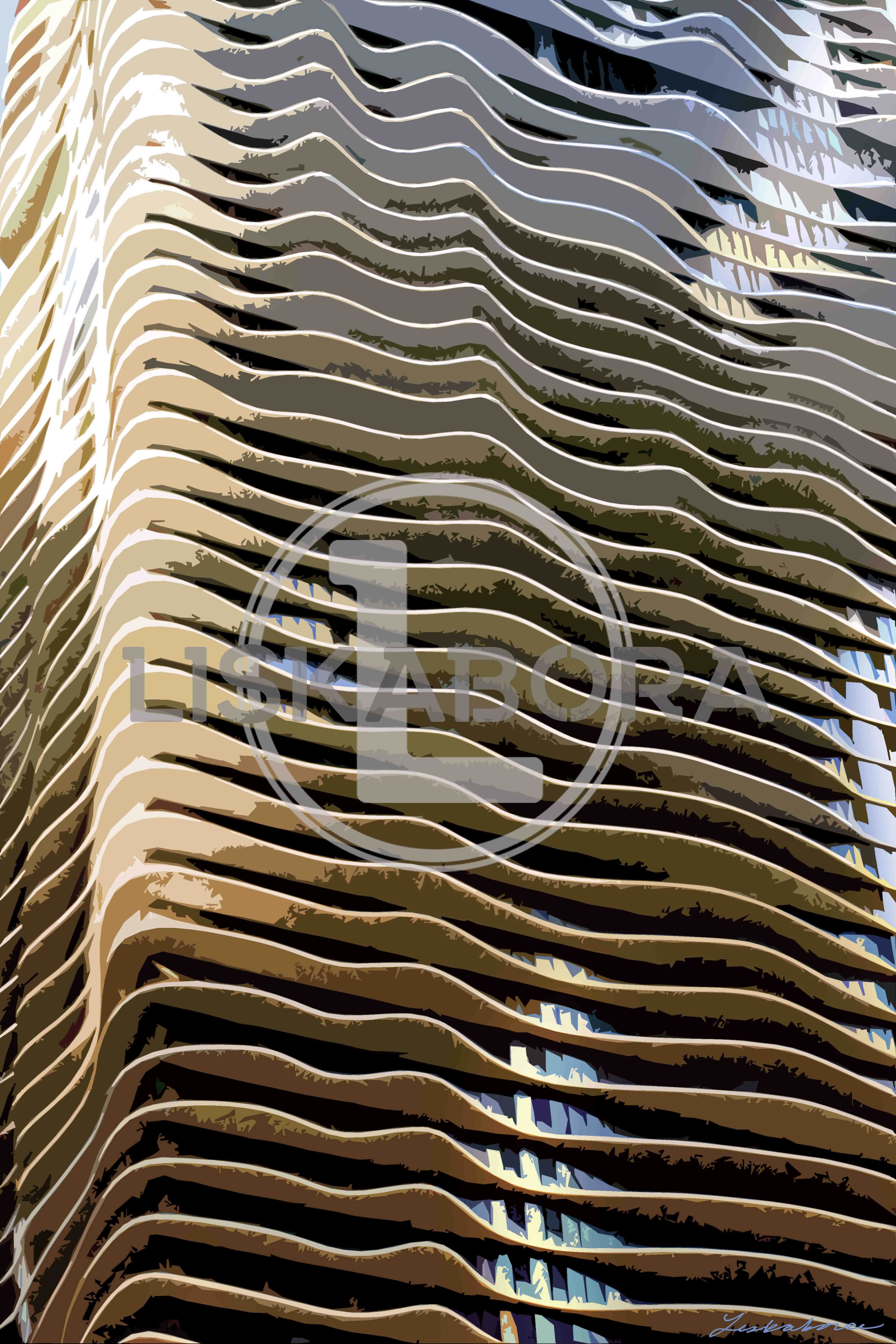 Chicago Aqua Building Architectural Photography