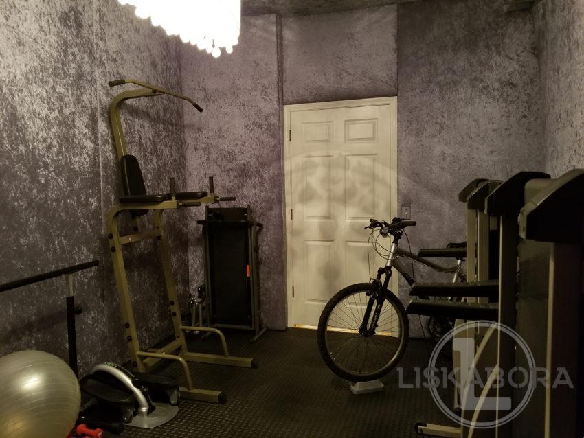 Gym After - View Toward Door