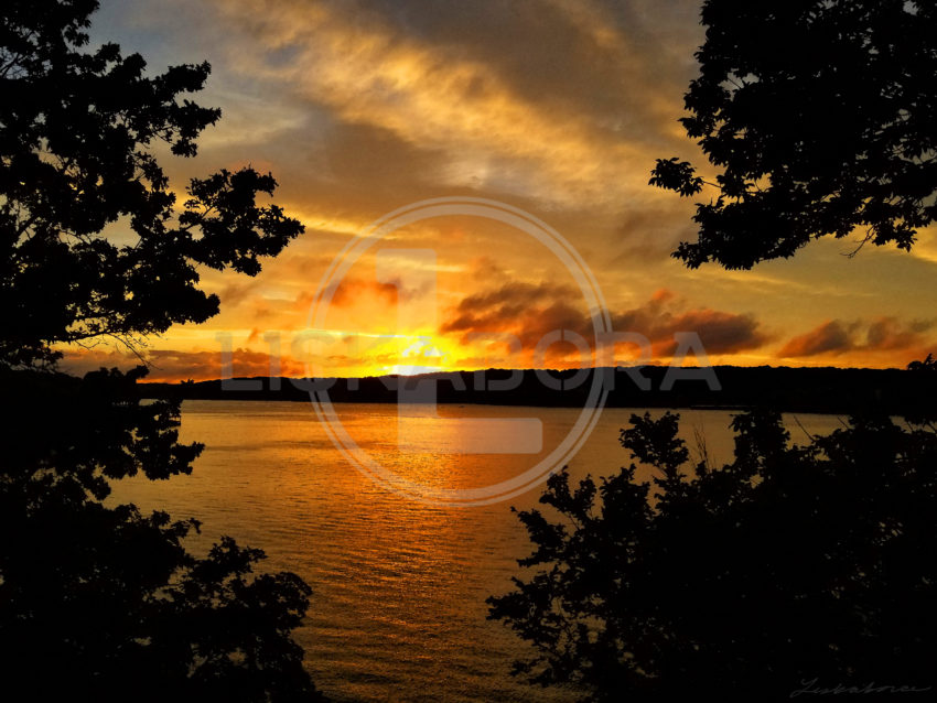Sunset over Lake of the Ozarks
